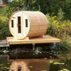 Dundalk Leisure Craft Knotty Cedar Barrel Saunas - My Sauna World