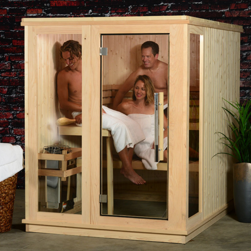 Almost Heaven Preston 6-Persons Indoor Sauna