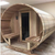 Saunacore Traditional Outdoor Country Living Barrel Sauna - My Sauna World