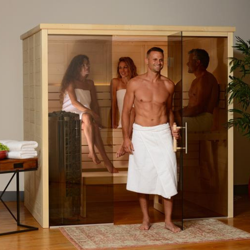 Almost Heaven Worthington 4 to 6 Person Indoor Sauna - My Sauna World