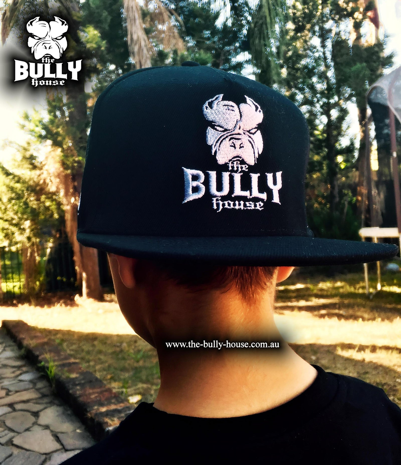 The Bully House - HARDCORE SNAPBACK - 4 x CAP COLLECTION COMBO -
