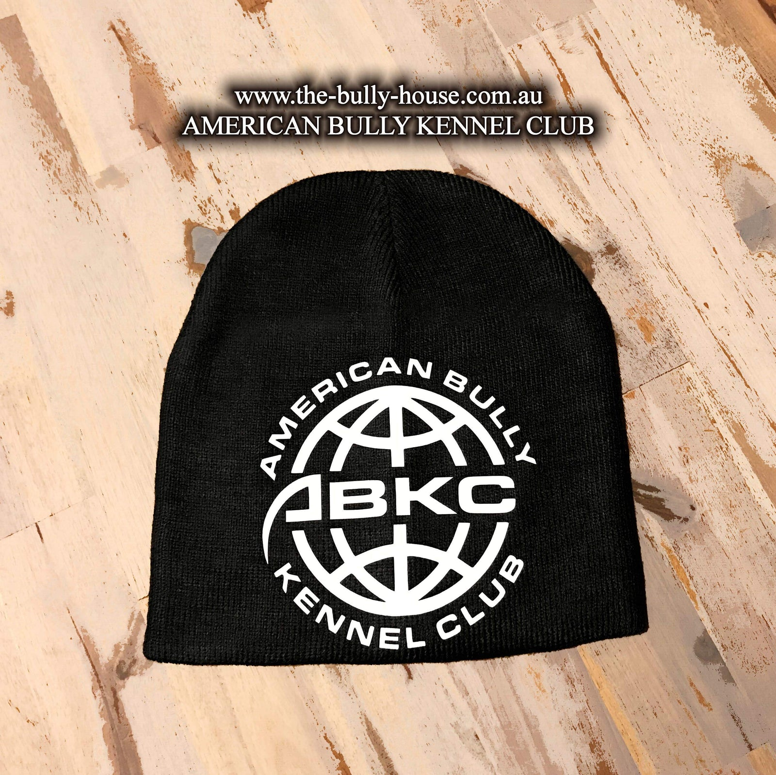 ABKC - BEANIES - WORLD LOGO ORIGINALS - American Bully Kennel Club