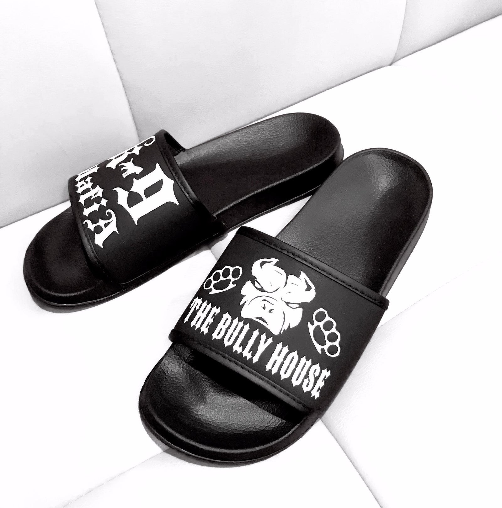 THE BULLY HOUSE - K9 MAFIA - Hardcore SLIDES (footwear)