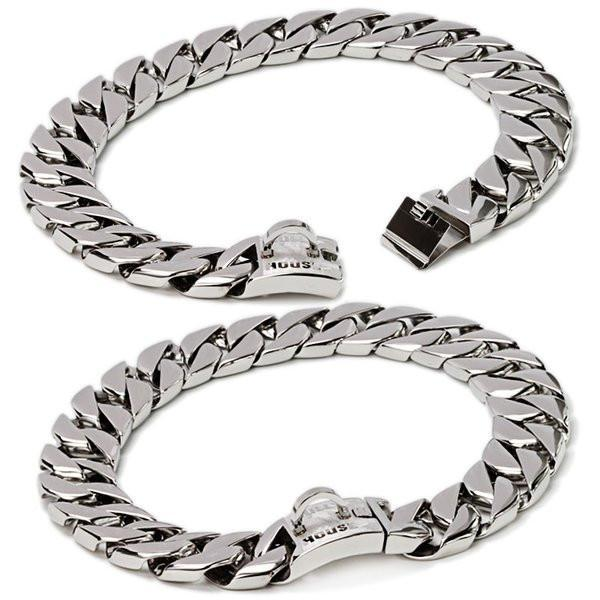 "The Bully House ""MONSTER CHAIN Collection"" SILVER CHROME- 32mm Wide (FREE SHIPPING IN OZ)"
