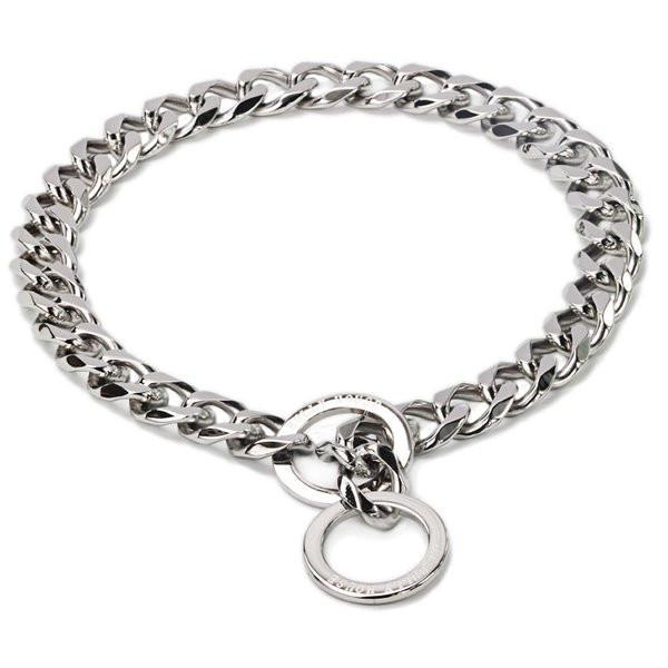 "The Bully House ""CHECK CHAIN Collection"" SILVER 20mm Wide  !!!! PRE RESERVE NOW - LANDING SEPTEMBER !!!!"