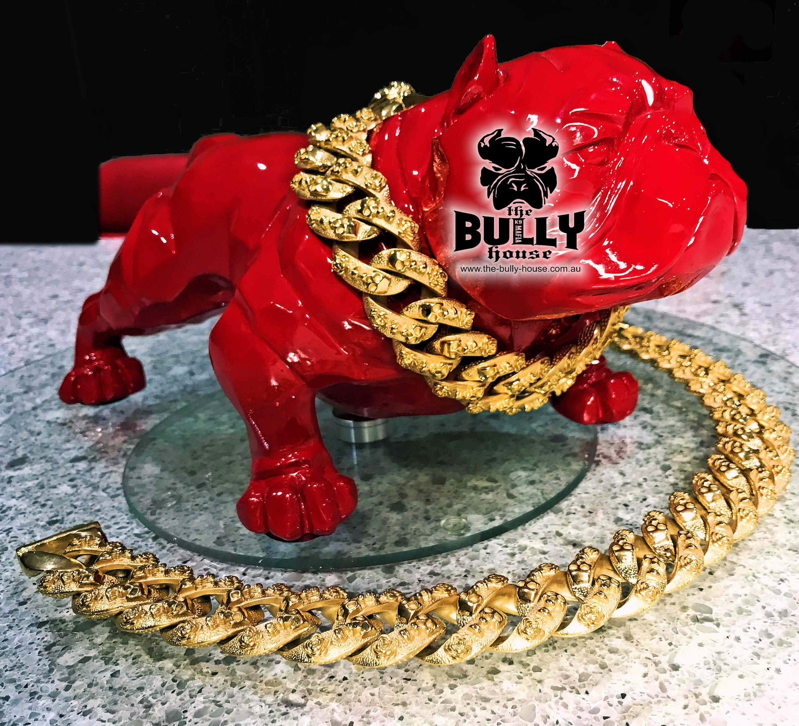 "The Bully House "" SKULL KING""  GOLD Collection""  -- (INCLUDES FREE EXPRESS POST) in AUST"