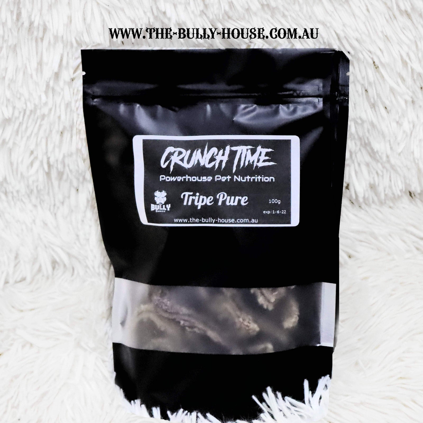 Tripe (grn) - Crunch time - Dog Treats