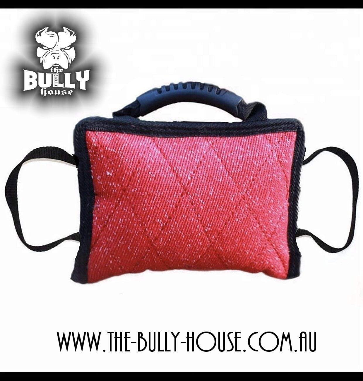 BITE PILLOW / TUG  Heavy Duty Extreme LARGE size RED