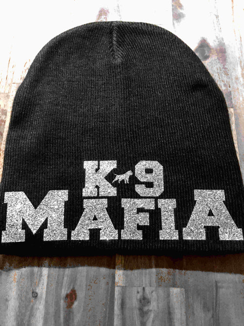 -BEANIES- by -THE BULLY HOUSE- K9 MAFIA - ICED SILVER