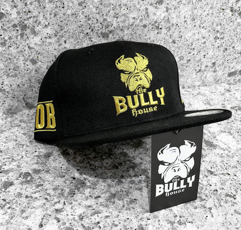 -BEANIES- by -THE BULLY HOUSE- K9 MAFIA - ICED GOLD/WHITE