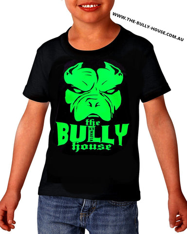 The Bully House -- INSPIRED NO.1 - Kids T Shirt - white print