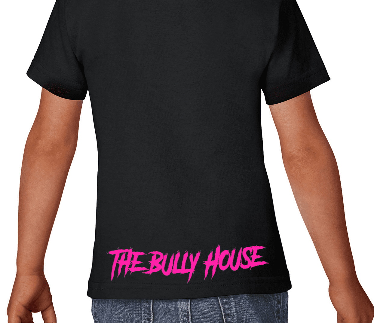 Don't BULLY My BREED - Kids Shirt - Hot PINK print