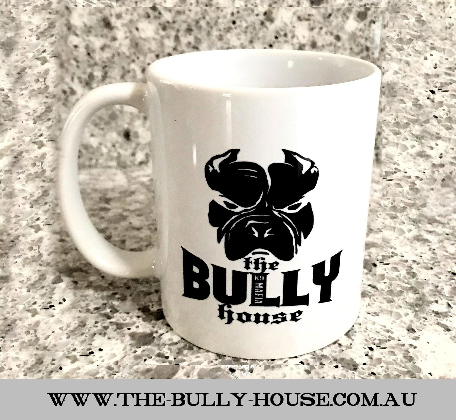 Coffee Mugs - by THE BULLY HOUSE - Original logo Collection -