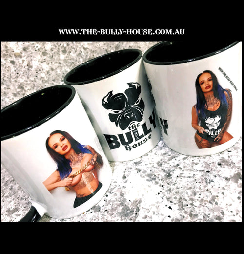 Coffee Mugs - by THE BULLY HOUSE - L.E Collection -