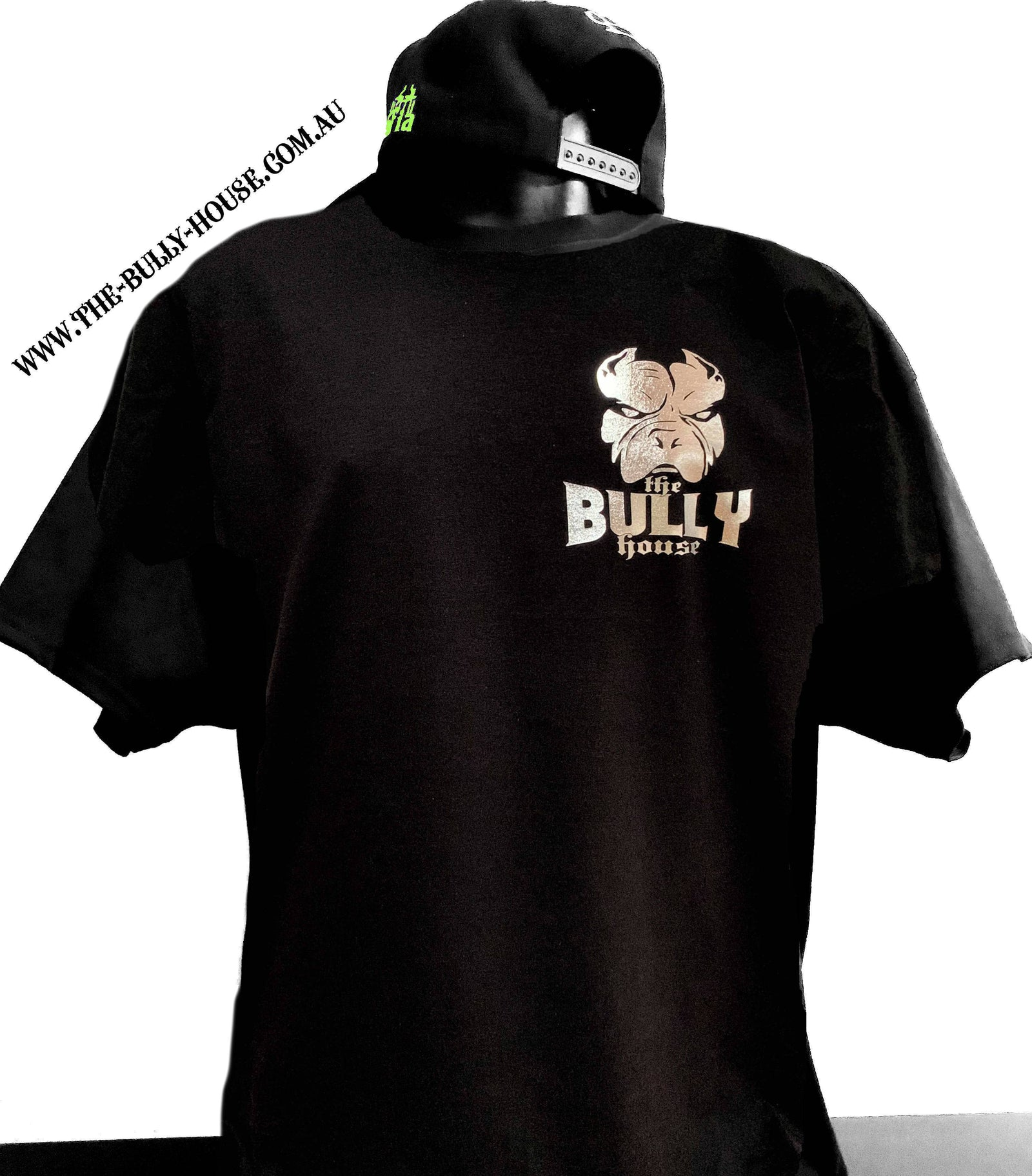 The Bully House -- THE ORIGINALS / SILVER CHROME - HOT FOIL -- T-Shirt - MENS