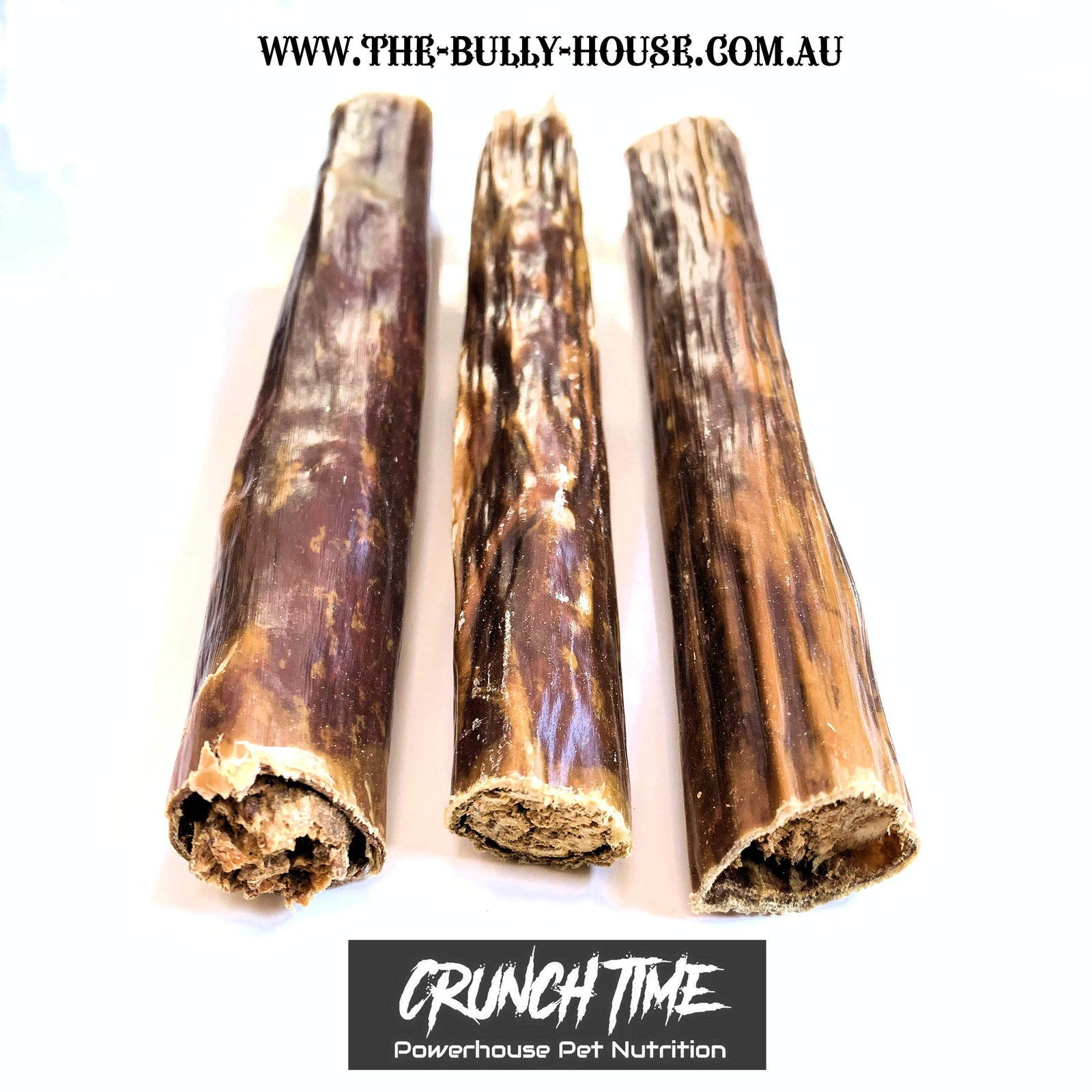 Solid Beef Tubes - Crunch time - Dog Nutrition