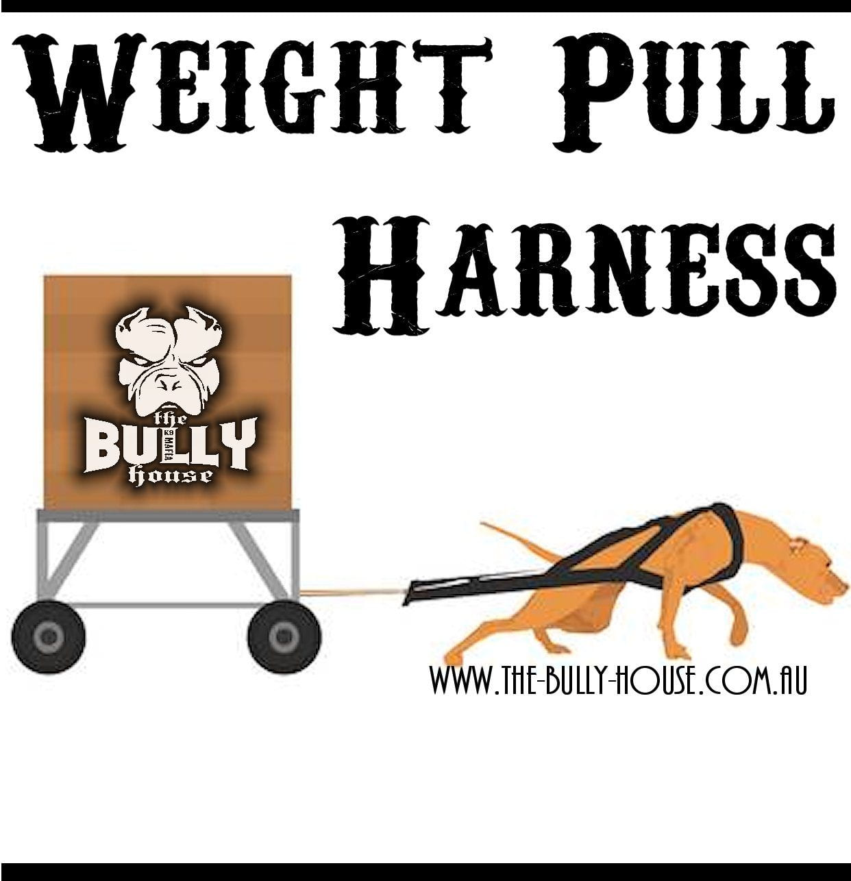Weight Pull HARNESS (BLACK)