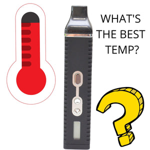Thermometer, Vaporizer, What's the Best Temp?