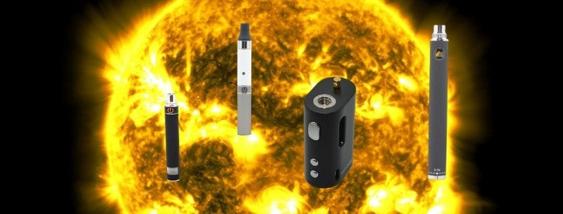 Sun with Various Vapes on it