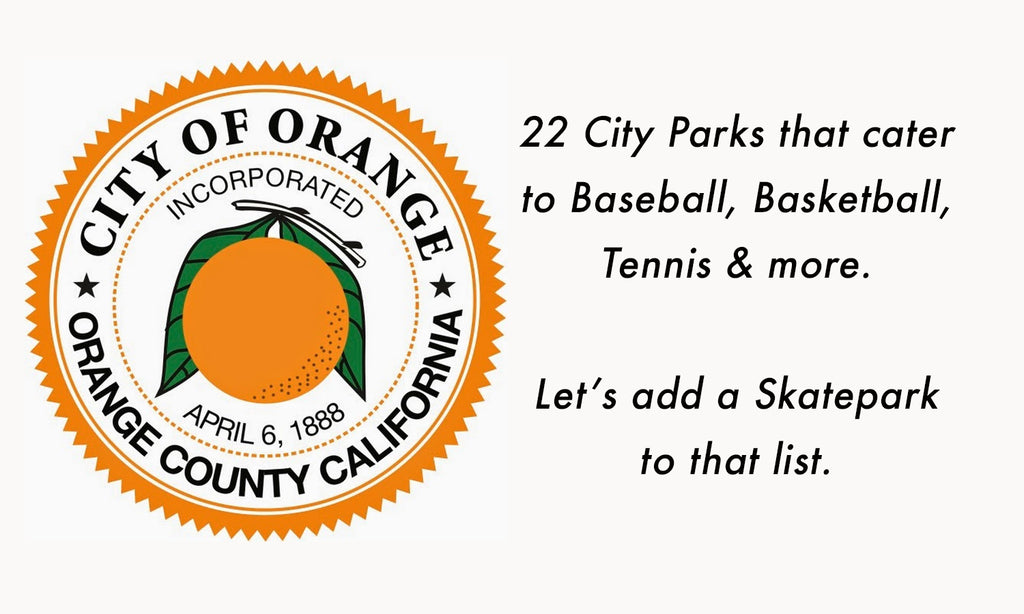 Sign the Skatepark of Orange Petition