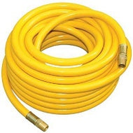 Yellow Non-marking Pressure Hose - 4000 PSI, 100ft. x 3/8in.