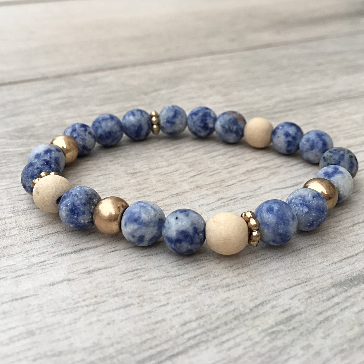 MALI-BLUE BREATHE BEADS