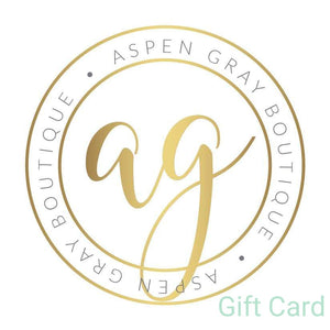 Aspen Gray eGift Card