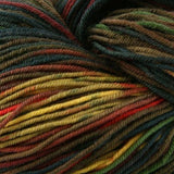 Unisono Sock Yarn Green/Brown/Yellow