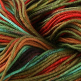 Unisono Sock Yarn Orange/Brown