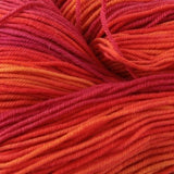 Unisono Sock Yarn Orange/Pink