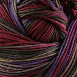Unisono Sock Yarn Purple/Burgandy