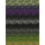 Silk Garden Black/Grey/Green/Purple