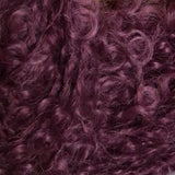 Solid Boucle Aubergine
