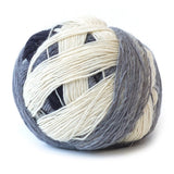 Lace Ball White Grey