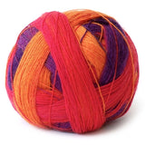 Lace Ball Purple Orange