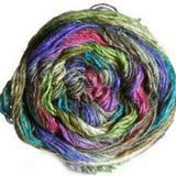 Silk Garden Sock Purple/Green/Blue