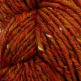 Luxury Tweed Chunky Orange
