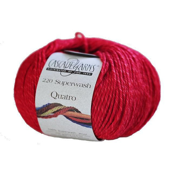 CASCADE 220 SUPERWASH QUATRO Yarn - The Knit Studio