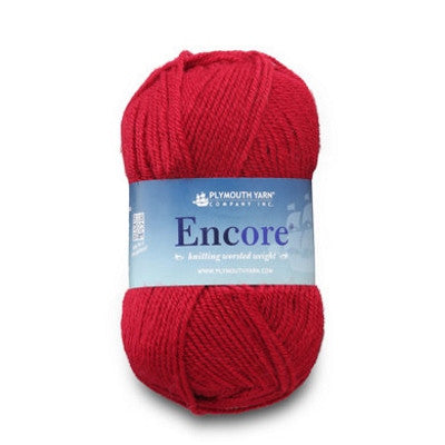 Yarn - ENCORE WORSTED - The Knit Studio