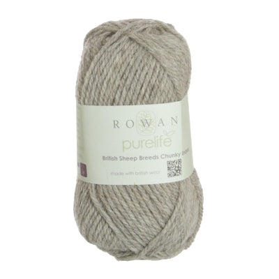 PURELIFE BRITISH SHEEP BREEDS CHUNKY UNDYED - The Knit Studio