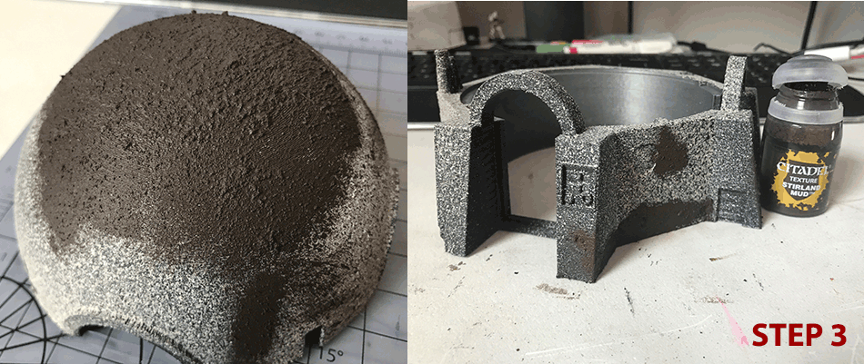 Prepping and Painting Desert Small House Terrain piece for Star Wars