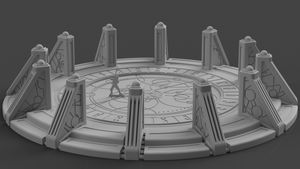 Syllogy's Temple - Digital STL File