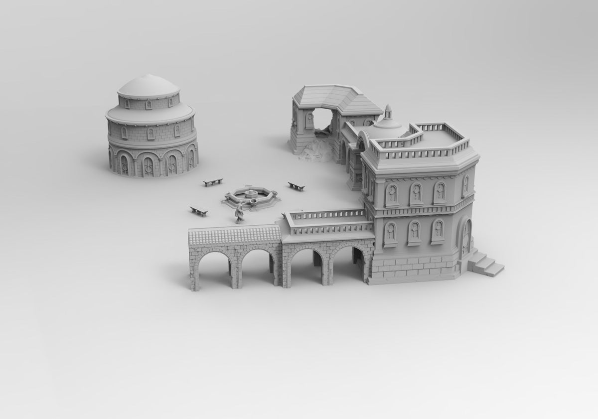 Marin City Set - Digital STL Files
