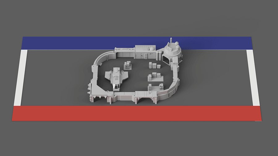 Modular Landing Bay Plus - Digital STL Files