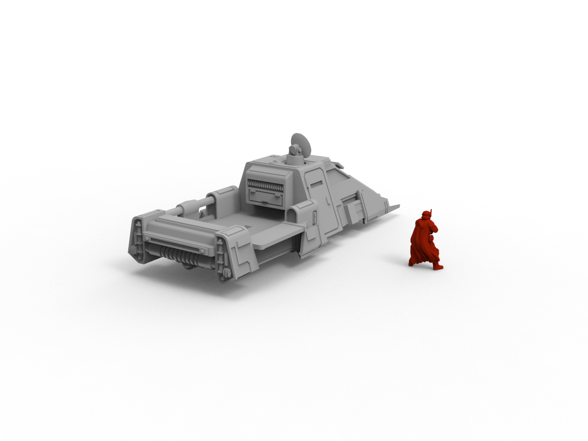 Armoured Shuttle - Digital STL File