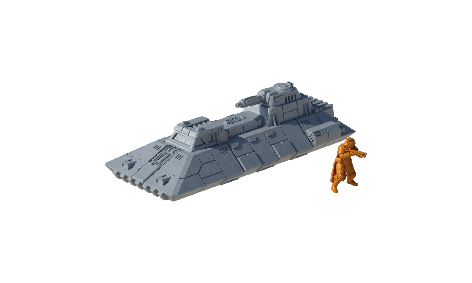 Authority Light Tank - Digital STL Files