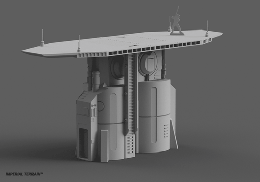 Landing Pad - Digital STL File