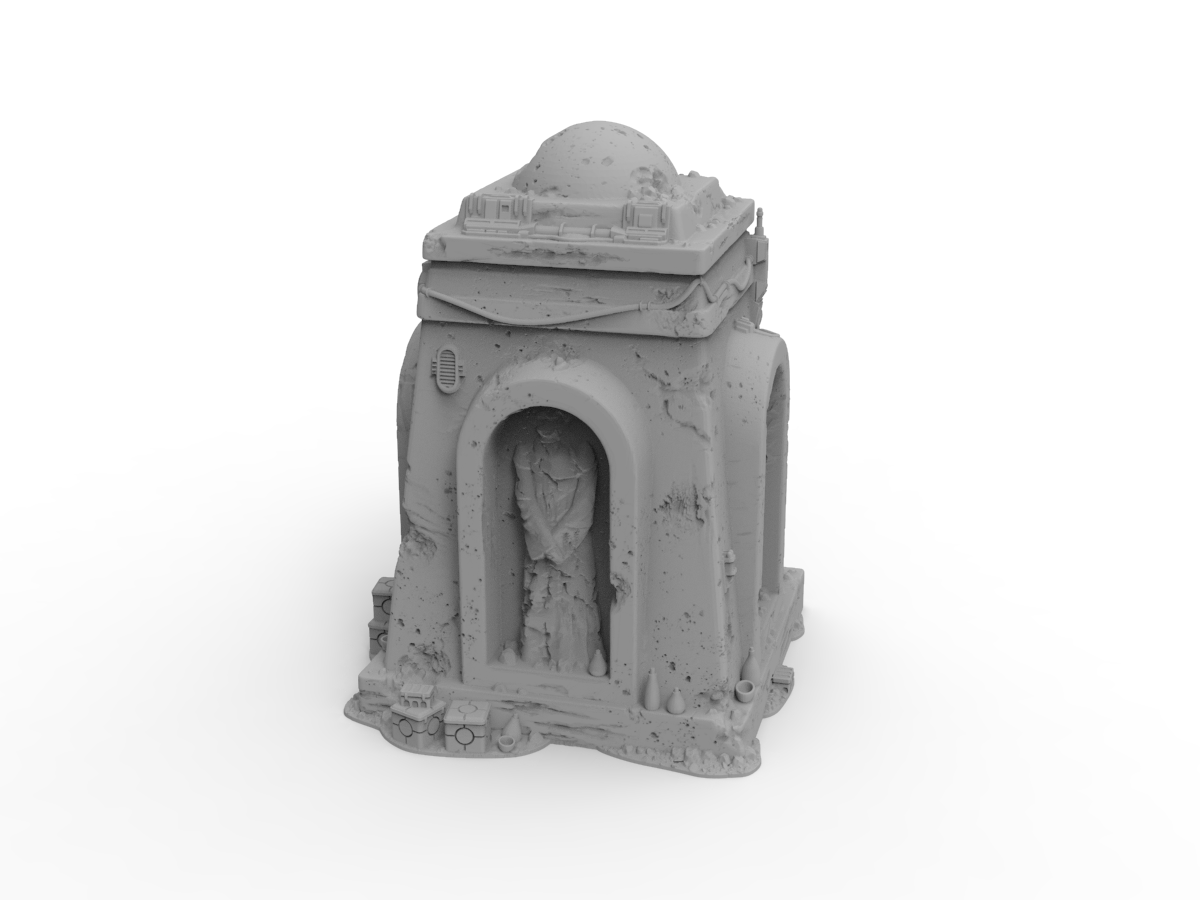 Monument by Jesús - Digital STL File