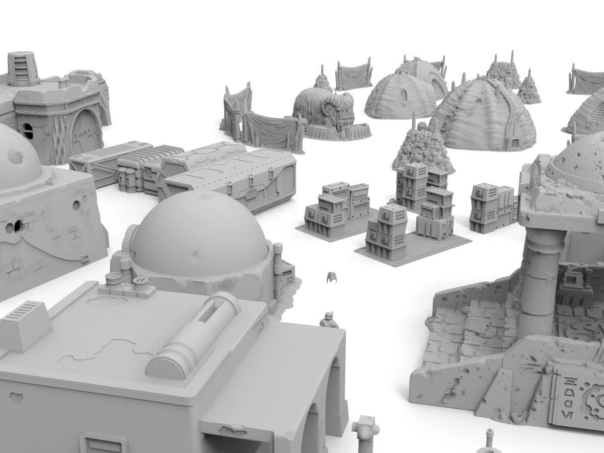 Ultimate Desert Bundle  - Digital STL Files