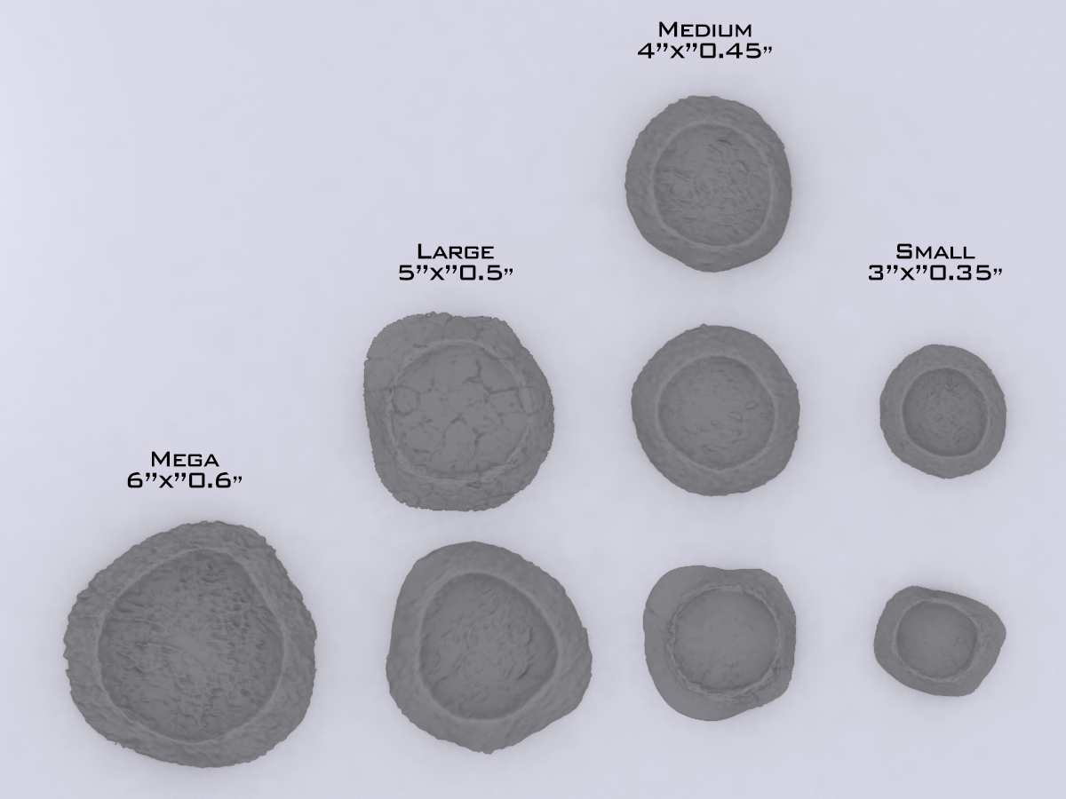 Battlefield Craters - Digital STL Files